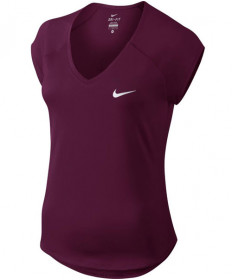 Nike Women's Court Pure Top Bordeaux 728757-609