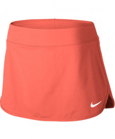 Nike Women's Court Pure Skirt Light Wild Mango 728777-680
