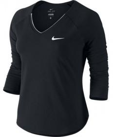 Nike Women's Pure 3/4 Sleeve Top Black 728791-010