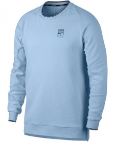 Nike Men's Court Long Sleeve Top Hydrogen Blue 836467-466