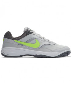 Nike Women's Court Lite Shoes Grey / Volt Glow 845048-070