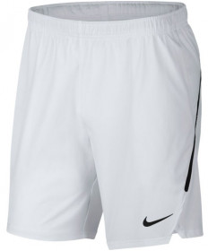 Nike Men's 9 Inch Court Flex Ace Shorts White 887515-100