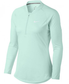 Nike Women's Pure Long Sleeve Half Zip Top Igloo 888170-357
