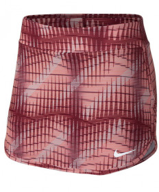 Nike Woomen's Court Print Pure Skirt Team Red 888172-677