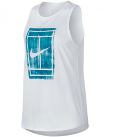 Nike Women's Court Tomboy Tank White 913535-100