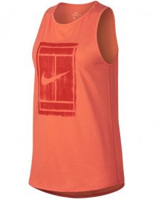 Nike Women's Court Tomboy Tank Light Wild Mango 913535-680