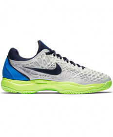 Nike Men's Zoom Cage 3 HC Shoes Grey/Blue 918193-004