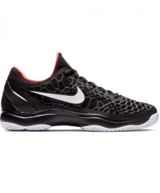 Nike Men's Zoom Cage 3 Hard Court Shoes Black/Red 918193-026