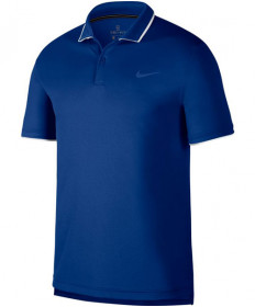 Nike Men's Court Dry Team Polo Indigo Force 939137-438