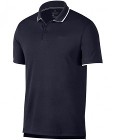 Nike Men's Court Dry Team Polo Obsidian 939137-452