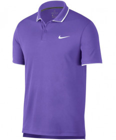Nike Men's Court Dry Team Polo Psychic Purple 939137-550
