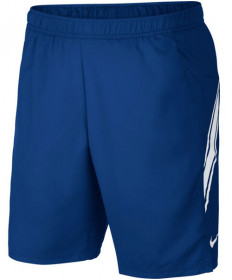 Nike Men's Court Dry 9 Inch Shorts Indigo Force 939265-438