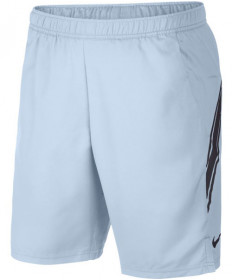 Nike Men's Court Dry 9 Inch Shorts Half Blue 939265-442