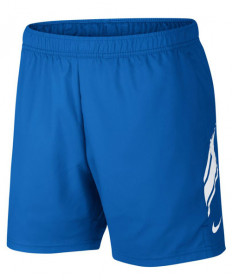 Nike Men's Court Dry 7 Inch Shorts Signal Blue 939273-403