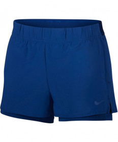 Nike Women's Court Flex Shorts Indigo Force 939312-438