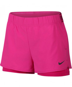 Nike Womren's Court Flex Shorts Action Fuchsia 939312-623
