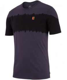 Nike Men's Court Seasonal Tee Gridiron AA7760-081