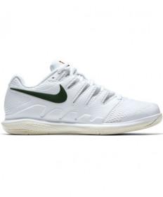 Nike Women's Air Zoom Vapor X Shoes White/Gorge Green AA8027-100