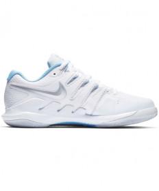 Nike Women's Air Zoom Vapor X Shoes White / Metallic Silver AA8027-115
