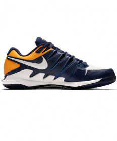 Nike Men's Zoom Vapor X Shoes Blue/Orange AA8030-400