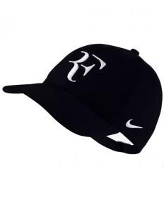 Nike RF Aerobill Roger Federer Cap Black/White AH6985-010