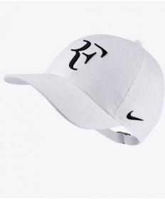 Nike RF Aerobill Roger Federer Cap Whte/Black AH6985-100