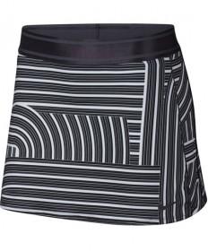 Nike Women's Court Dry Print Skirt Gridiron AH7854-081