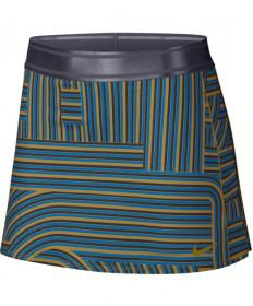 Nike Women's Court Dry Print Skirt Peat Moss AH7854-386