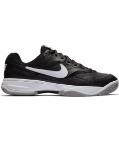 Nike Men's Court Lite Shoes WIDE Black/White AH9067-010
