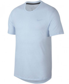 Nike Men's Court Challenger Short Sleeve Top Half Blue AJ8202-442