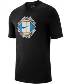 Nike Men's Court OZ Tee T-Shirt GX Black AO1138-010