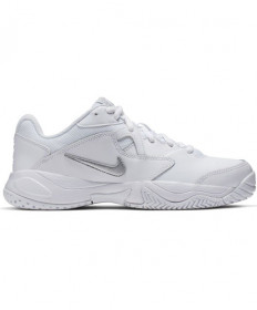 Nike Women's Court Lite 2 Shoes White / Metallic Silver AR8838-101
