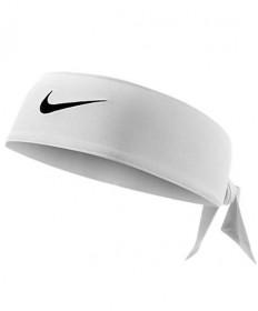 Nike Swoosh DriFit HeadTie 2.0 White NJN85-101