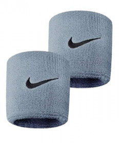 Nike Swoosh Wristbands Grey Heather NNN04-051