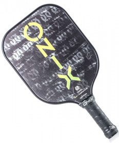 Onix React Pickleball Paddle Black KZ5006-1