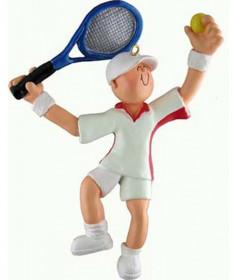 Male Tennis Ornament