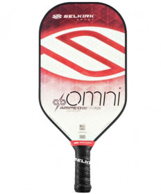 Selkirk Amped Omni X5 FiberFlex Pickleball Paddle Lite Red 1283