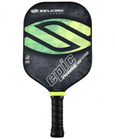 Selkirk Prime Epic X4 FiberFlex Pickleball Paddle Fields of Green 1295