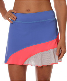 Sofibella Montreal Slice 14 Inch Skort Valley Blue 1754-VB
