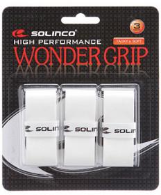 Solinco Wonder Grip Overgrip 3 Pack White 1920072