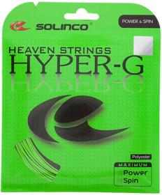 Solinco Hyper G 16L 1.24 String Lime 1920100125