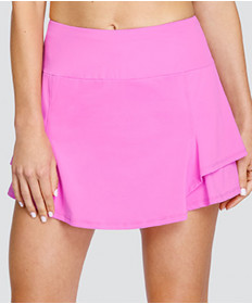 Tail City Scape Wila 14.5 Inch Side Ruffle Tiered Skort Lily TD6915-165