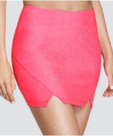 Tail Coastal Vibes Mica 14.5 Inch Front Slit Skirt Lazer Pink TE6918-173