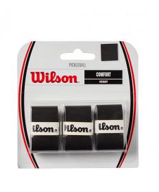 Wilson Pro Overgrip Pickleball 3pack Black WR8401102