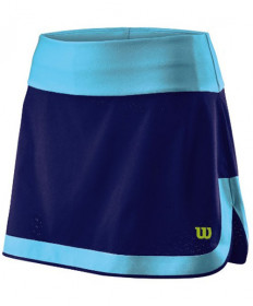 Wilson Women's UWII Perforated 12.5 Inch Skirt Mazarine Blue WRA763601