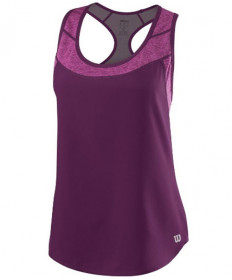 Wilson Women's UWII Hybrid Tank Dark Purple / Very Berry WRA764101