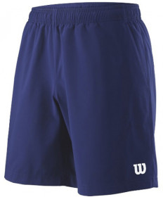 Wilson Men's 8 Inch Team Shorts Blue Depths WRA7665503