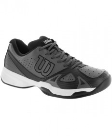 Wilson Men's Rush Open 2.0 Shoes Black/Grey WRS322290