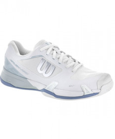 Wilson Women's Rush Pro 2.5 Shoes White/Blue WRS322700