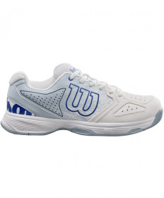 Wilson Junior Stroke Shoes White / Blue WRS324020